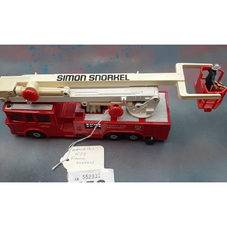 Matchbox Lesney K39 Fire Department