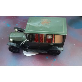 VINTAGE Tin Plate Ford Car About 1960 Japan