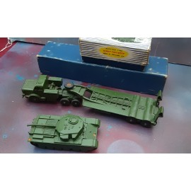 Dinky Tank Transporter 660 And Tank 651
