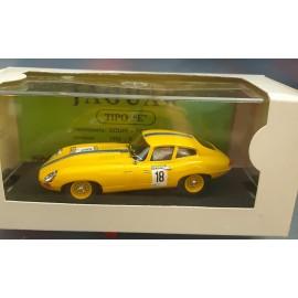 """Jaguar 1964 in Yellow Tipo """"E"""" Aperol 18"""