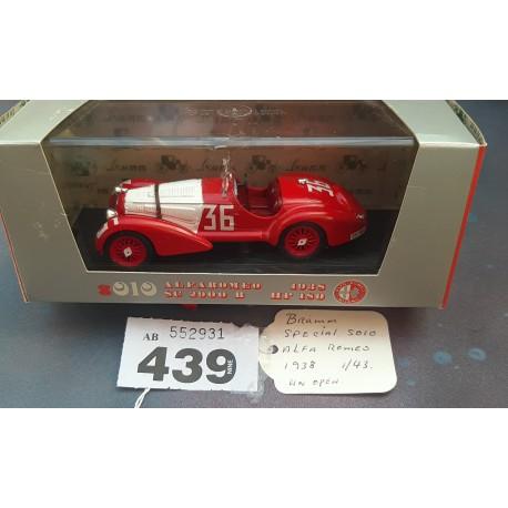 BRUMM Special  Alfaromeo 1938 HP 180