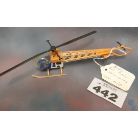 Dinky Bell Police Helicopter 1974/80