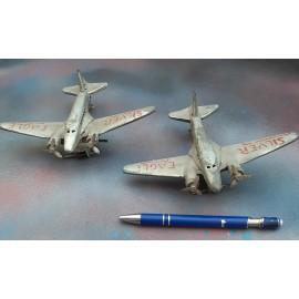 VINTAGE Tin plate Clockwork Plane