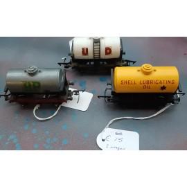 3 Wagon U.D. B.P. AND SHELL OIL