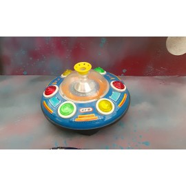 Tin Plate U.F.O BATTERY Toy Made IN China