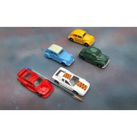 5 Corgi Cars