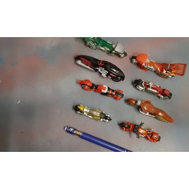 8 HOT Wheels Motorcycles For Sale