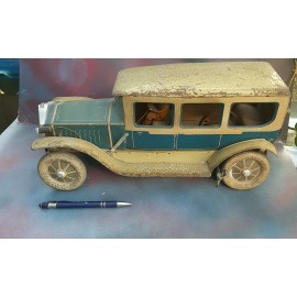 VINTAGE BIG Tinplate Car ABOUT 1930's