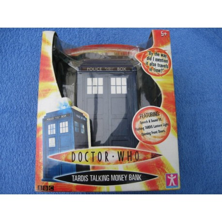 Doctor Who Talking Money Bank