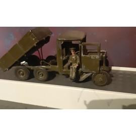 VINTAGE Britains  Military Tipper Truck