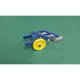 VINTAGE Britains 9546 Small Ploughs 1978