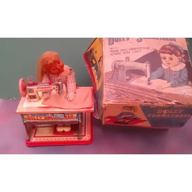 VINTAGE Dolly Seamstress Made in JAPAN