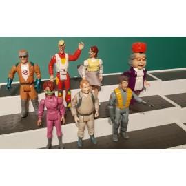 Job Lot OF  VINTAGE Ghostbusters Figures