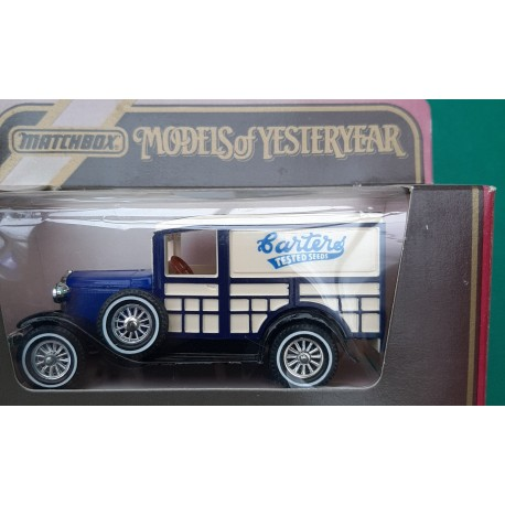 Matchbox Models of Yesteryear Y21 Ford (A)