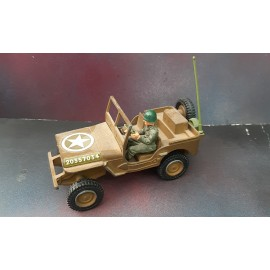 Dinky Military US Jeep With Driver