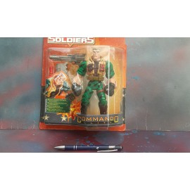 Kenner Small Soldiers Chip Hazard on Card