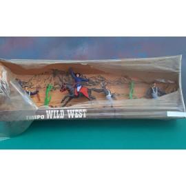 VINTAGE Timpo Figure  Cavalry Set in Box