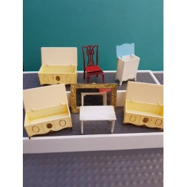 Vintage Dollhouse Furniture Louis Mark&co