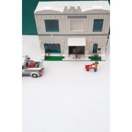 Lego House With Figure and Truck