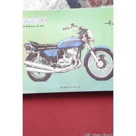 Rare VINTAGE  Kawasaki Mach H2 For Sale