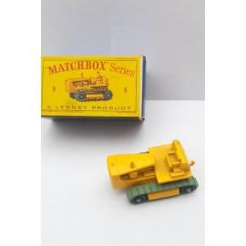 Matchbox Lesney no8 Caterpillar Tractor