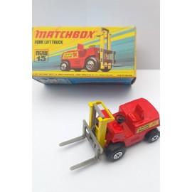 Matchbox Fork Lift Truck New no 15 Superfast