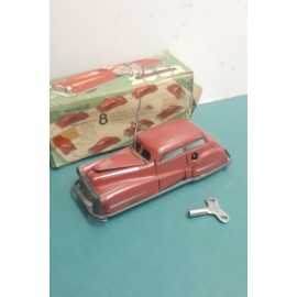 Wind up Auto-Miracle Red car France Made