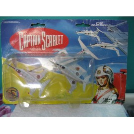 Captian Scarlet Angel Interceptor Jet Fighter