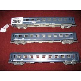 Train Jouef wagon Euro Nuit