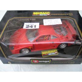 Burago 1/18 Ferrari F40 - 1987