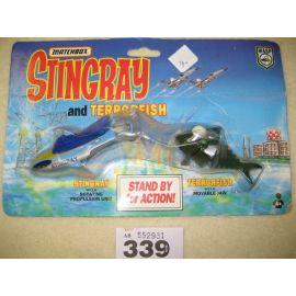 match Box Stingray and Terrorfish